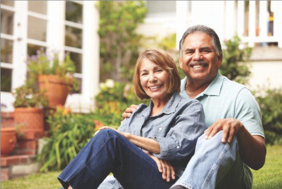 A couple enjoying life with thyroid disease in Lake Mary, FL
